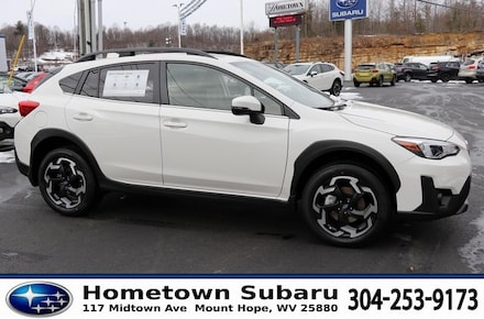 Featured New 2021 Subaru Crosstrek Limited SUV JF2GTHNC3M8293246 for sale in Mount Hope, WV