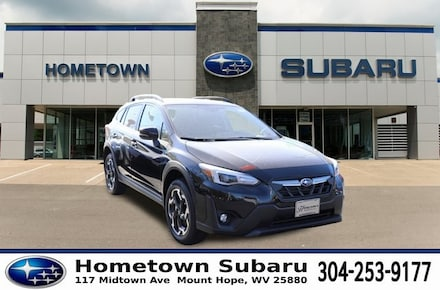 Featured New 2021 Subaru Crosstrek Limited SUV JF2GTHNC7M8220977 for sale in Mount Hope, WV