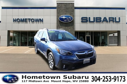 Featured Used 2020 Subaru Outback Premium SUV 4S4BTAEC6L3120523 for sale in Mount Hope, WV