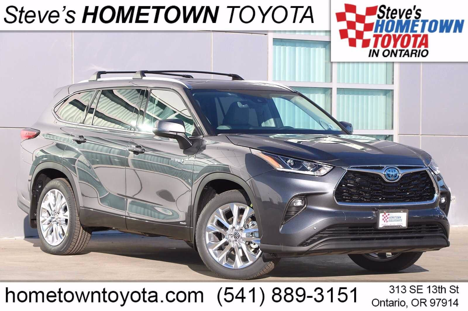 New 2021 Toyota Highlander Hybrid For Sale At Hometown Toyota Vin 5tdxbrch5ms521247