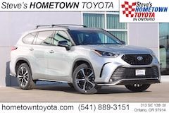 New 2021 Toyota Highlander XSE SUV For Sale in Ontario, OR