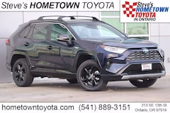 New 2021 Toyota RAV4 Hybrid XSE SUV For Sale in Ontario, OR