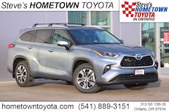 New 2021 Toyota Highlander Hybrid XLE SUV For Sale in Ontario, OR