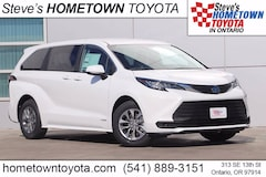 New 2021 Toyota Sienna LE 8 Passenger Van For Sale in Ontario, OR