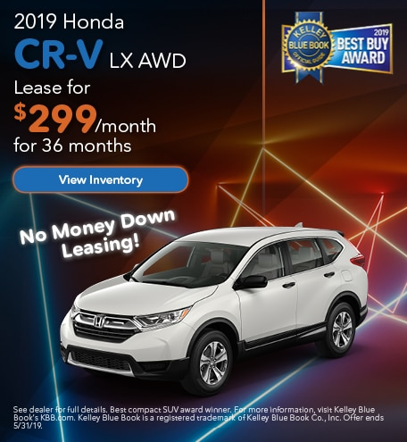 May 2019 CR-V Lease
