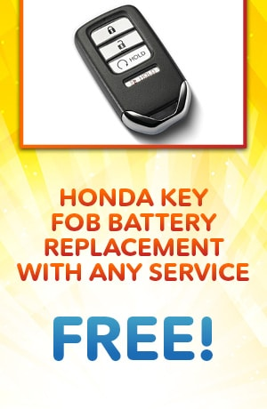 Free Key Fob Battery Replacement With Any Service