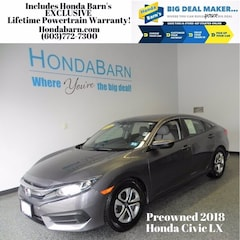 Used 2018 Honda Civic LX Sedan for sale in Stratham, NH