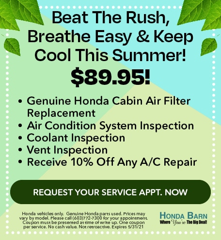 Beat The Rush, Breathe Easy & Keep Cool This Summer!