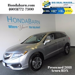 Used 2018 Acura RDX V6 AWD with Advance Package SUV for sale in Stratham, NH