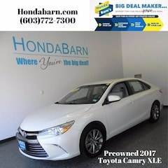 Used 2017 Toyota Camry XLE Sedan for sale in Stratham, NH