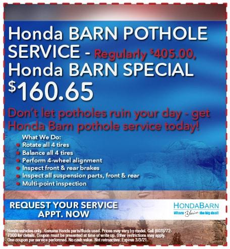 Pothole Service