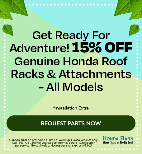Genuine Honda Roof Racks & Attachments