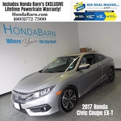 Used 2017 Honda Civic EX-T Coupe for sale in Stratham, NH
