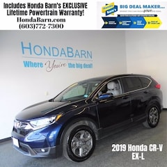 Used 2019 Honda CR-V EX-L AWD SUV for sale in Stratham, NH