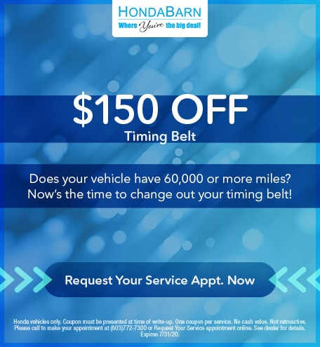 $150 Off Timing Belt