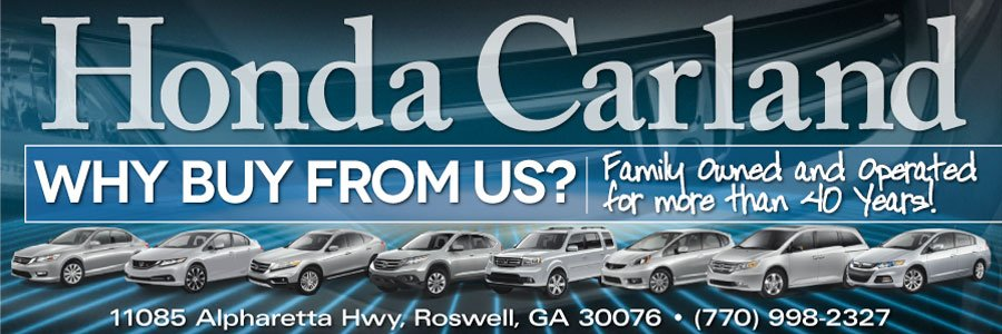 Why Does Atlanta Buy From Honda Carland?