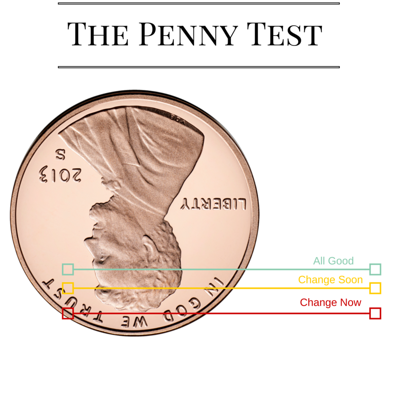 Tire Penny Test >> Honda Carland The Penny Tire Tread Test Honda Carland