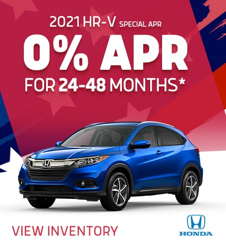 2021 HRV– 0% APR for 24-48 Mo