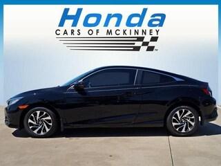 2018 Honda Civic LX-P CVT Coupe McKinney