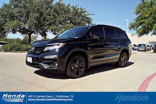 New 2021 Honda Pilot Black Edition AWD SUV for sale in McKinney