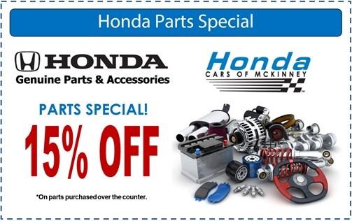 Honda cars of mckinney specials for Honda cars of mckinney