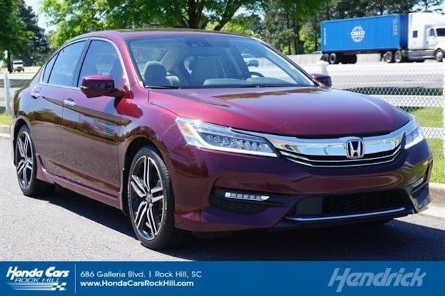 Used 2017 Honda Accord Touring Sedan for sale in Rock Hill, SC