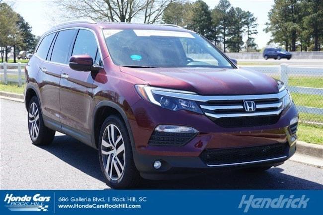 Used 2018 Honda Pilot Elite SUV for sale in Rock Hill, SC