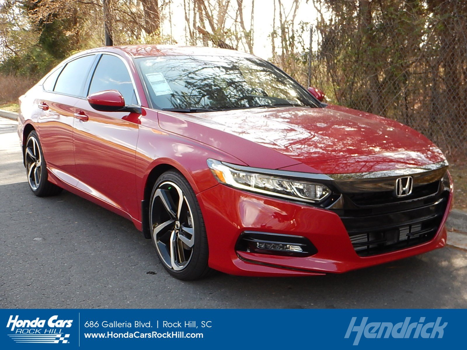 New 2018 Honda Accord Sport CVT Sedan For Sale in Rock Hill SC