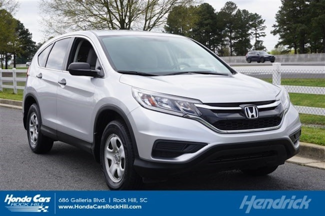 Used 2016 Honda CR-V LX SUV for sale in Rock Hill, SC