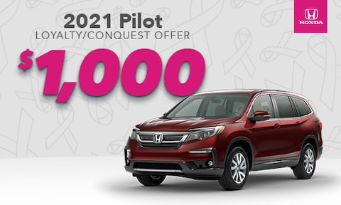 Pilot Loyalty/Conquest Offer 1