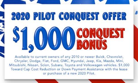 $1,000 Pilot Conquest Offer.