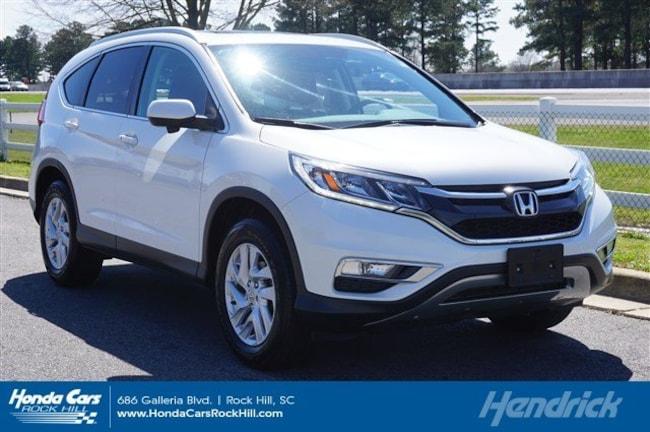 Used 2016 Honda CR-V EX-L SUV for sale in Rock Hill, SC