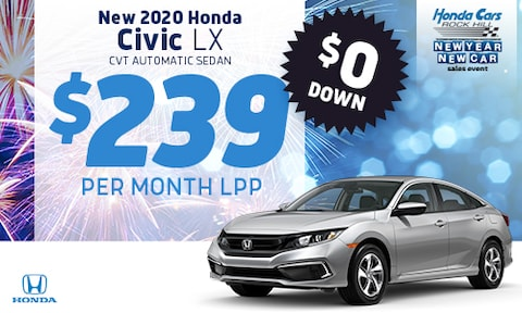 New Civic LPP Offer