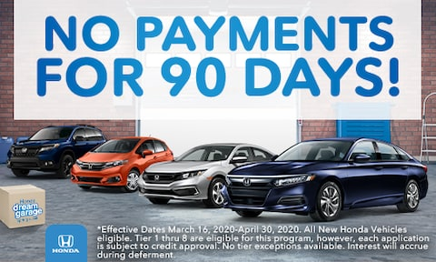 No Payments Offer - March 2020