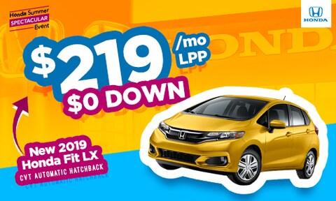 2019 Honda Fit Special