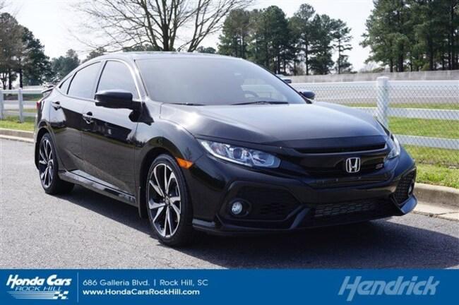 2018 Honda Civic Si Sedan Manual Sedan