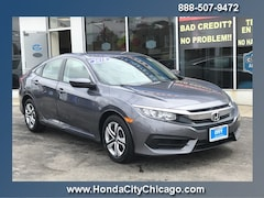 Chicago Used 2018 Honda Civic Sedan Front-wheel Drive P3973 dealer - inventory