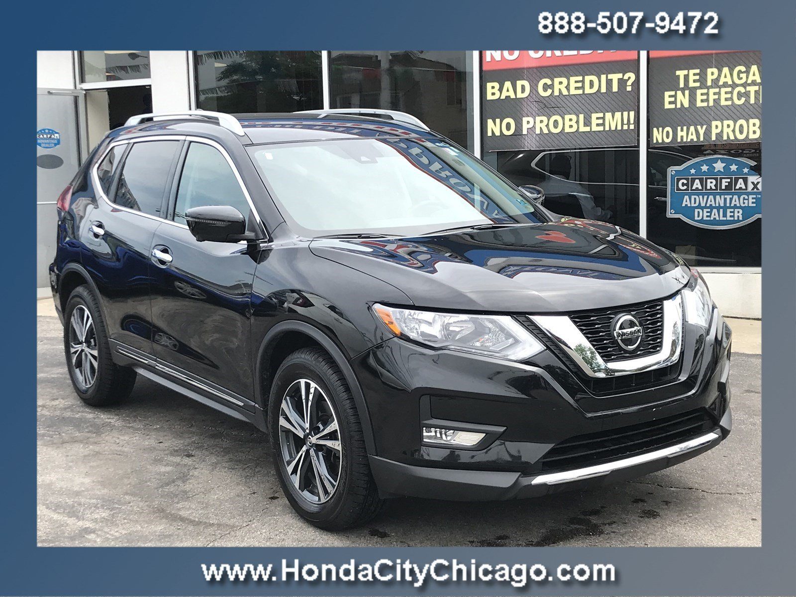 Used 2018 Nissan Rogue SL For Sale in Chicago, IL | Near Morton Grove,  Lisle & Highland, IL | VIN# 5N1AT2MVXJC785510