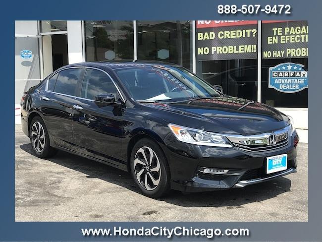 Used 2016 Honda Accord Sedan EX-L I4 CVT EX-L For Sale Chicago, IL