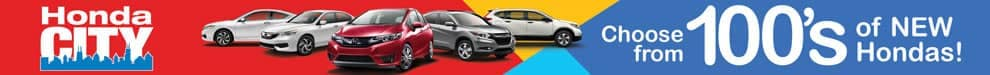 Choose from 100s of new Honda Models