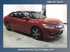 Chicago Used 2016 Honda Accord Sedan Front-wheel Drive C13034A dealer - inventory