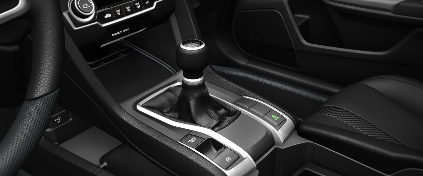 2017 honda civic lineup embraces the manual transmission.