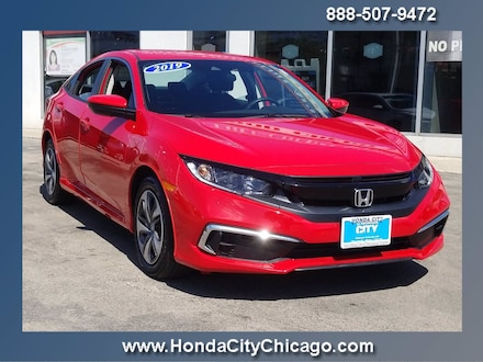 Featured Used 2019 Honda Civic Sedan LX LX CVT for Sale near Orland Park, IL