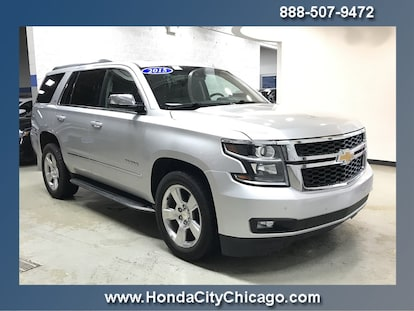 Used 2015 Chevrolet Tahoe LTZ For Sale in Chicago, IL | Near Morton Grove,  Lisle & Highland, IL | VIN# 1GNSKCKC5FR511842