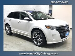 Chicago Used 2014 Ford Edge All-wheel Drive P3991 dealer - inventory