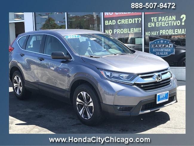 Used 2017 Honda Crv >> Used 2017 Honda Cr V Lx For Sale In Chicago Il Near Morton Grove