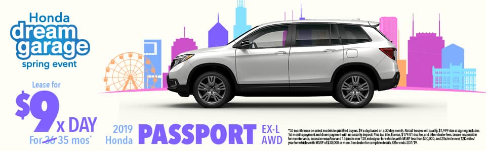 2019 Passporrt Lease Offer