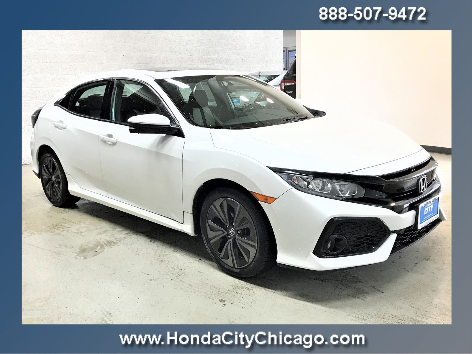 2017 Honda Civic Hatchback EX EX CVT
