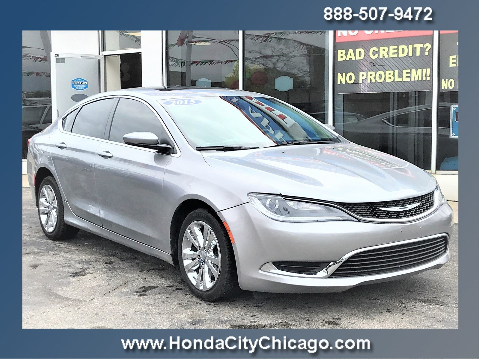 2015 Chrysler 200 For Sale >> Used 2015 Chrysler 200 Limited For Sale In Chicago Il Near Morton Grove Lisle Highland Il Vin 1c3cccab0fn679161