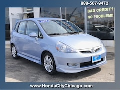 Chicago Used 2008 Honda Fit Front-wheel Drive P4051 dealer - inventory